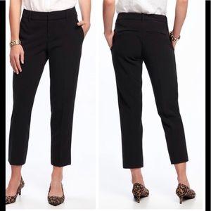 Old Navy Harper Pants Black Size 6 EUC